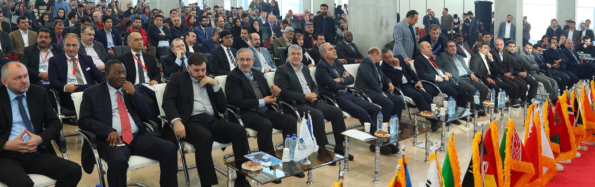 مراسم افتتاحیه (Iran expo 2018)