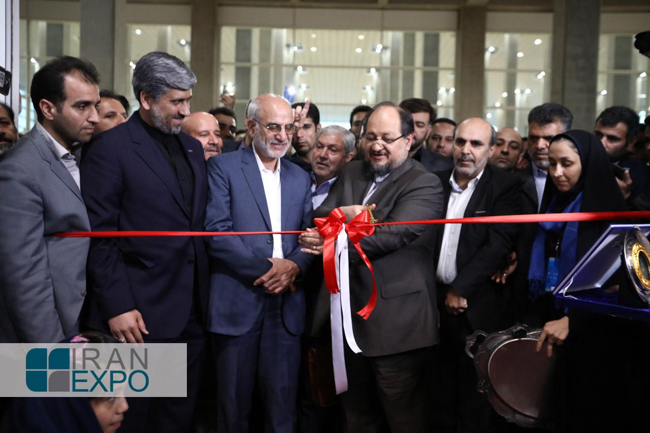 لحظه افتتاح ایران اکسپو 2017