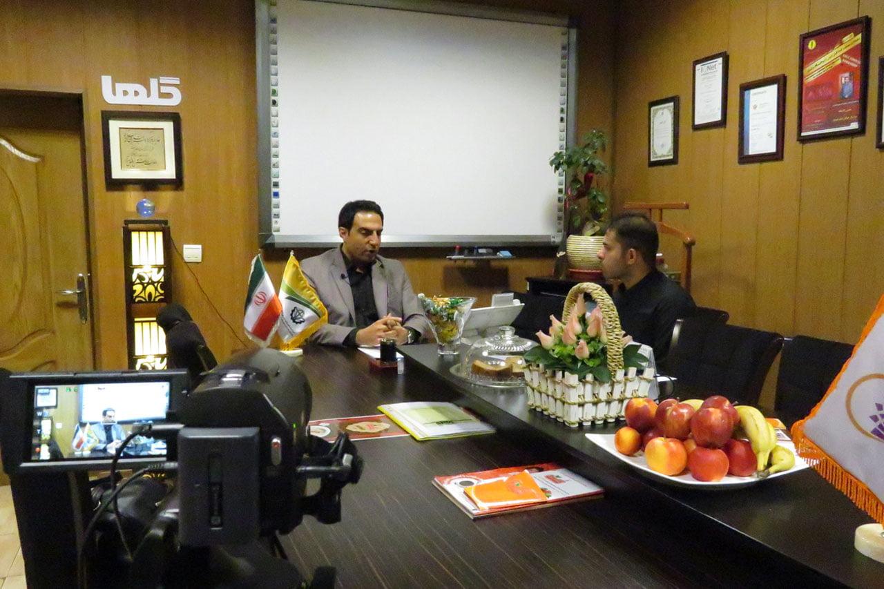 مصاحبه با آقای کریمی رئیس هیئت مدیره تعاونی تولیدکنندگان مواد غذایی