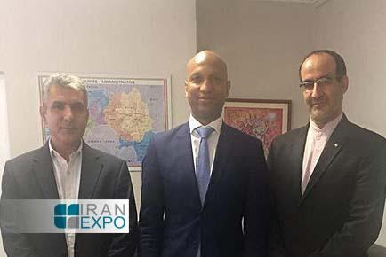 گینه خواستار تقویت روابط اقتصادی با ایران شد